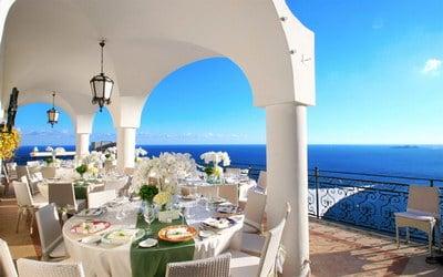Positano wedding Villa Oliviero