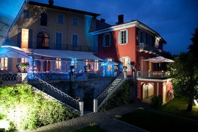 Lake Orta wedding venue Villa Decio