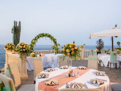 Weddings in Sicily Grand Hotel Minareto