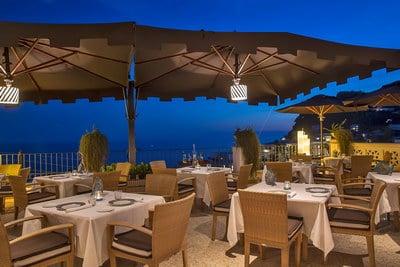 Capri wedding venues Capri Tiberio Palace