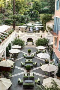 Rome wedding venue Hotel de Russie