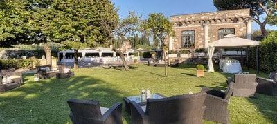 Rome wedding venues Villa dei Cesari