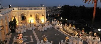 Rome wedding venues Villa Miani