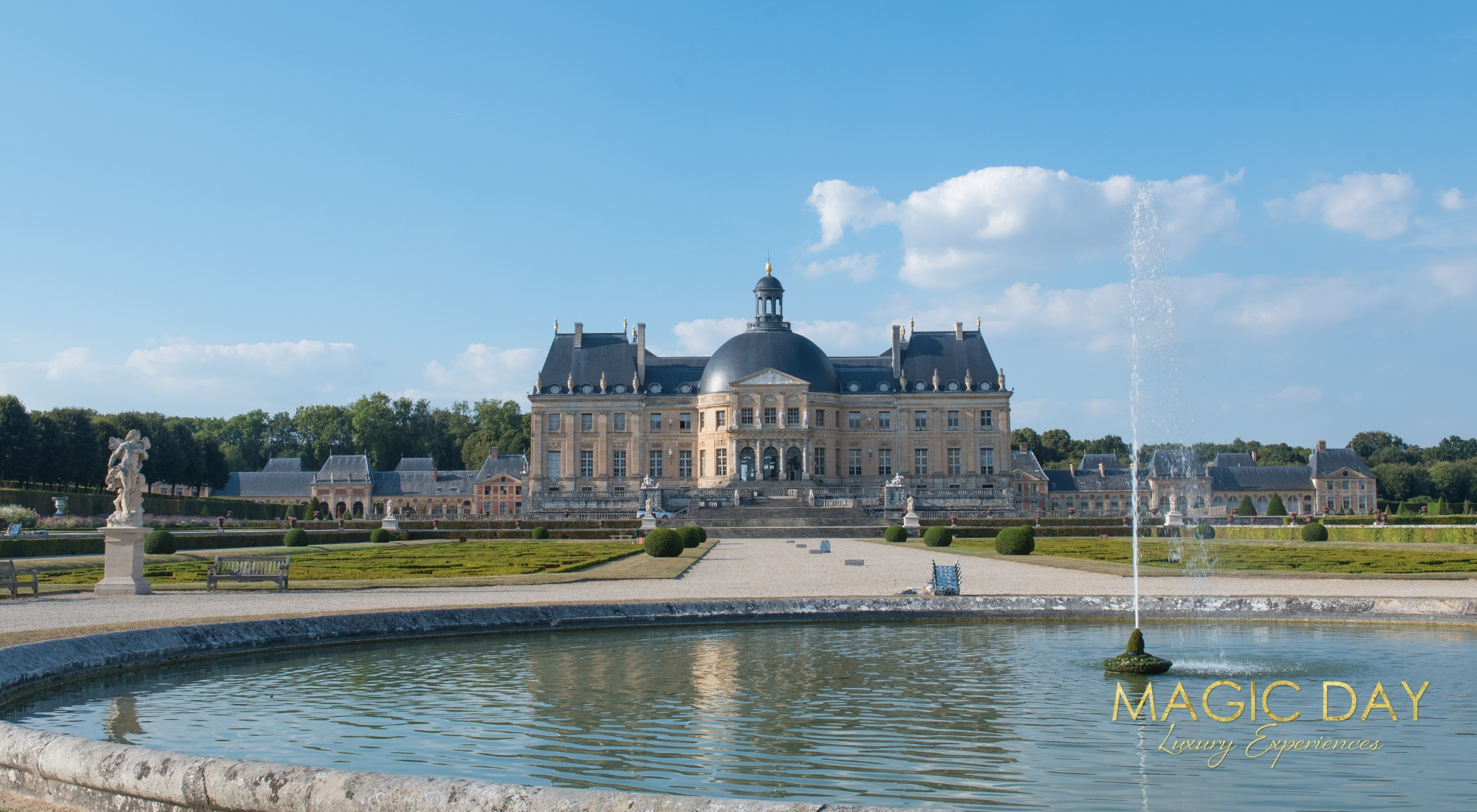 Birthday in Paris Chateau Vaux le Vicomte