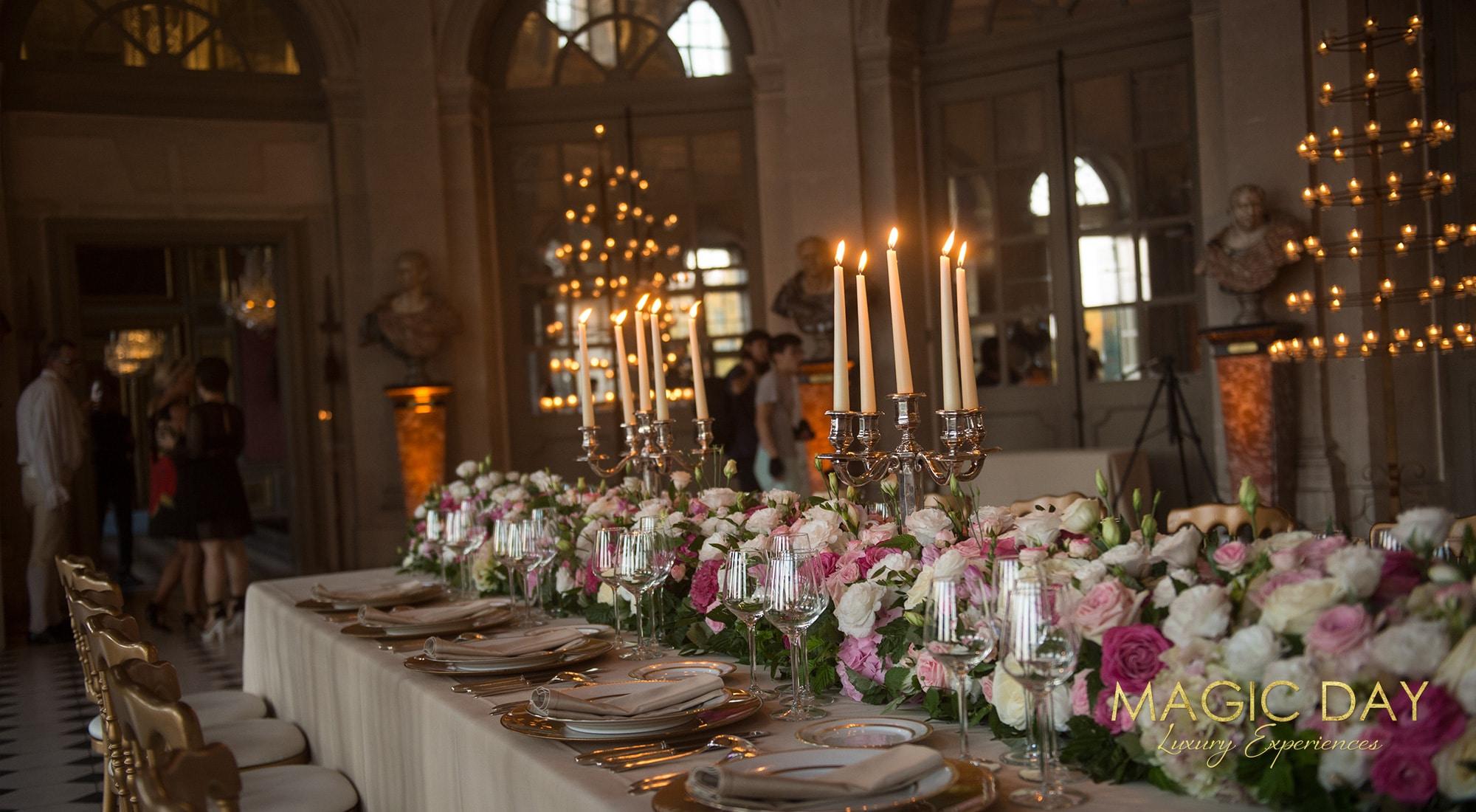 Birthday in Paris Chateau Vaux le Vicomte