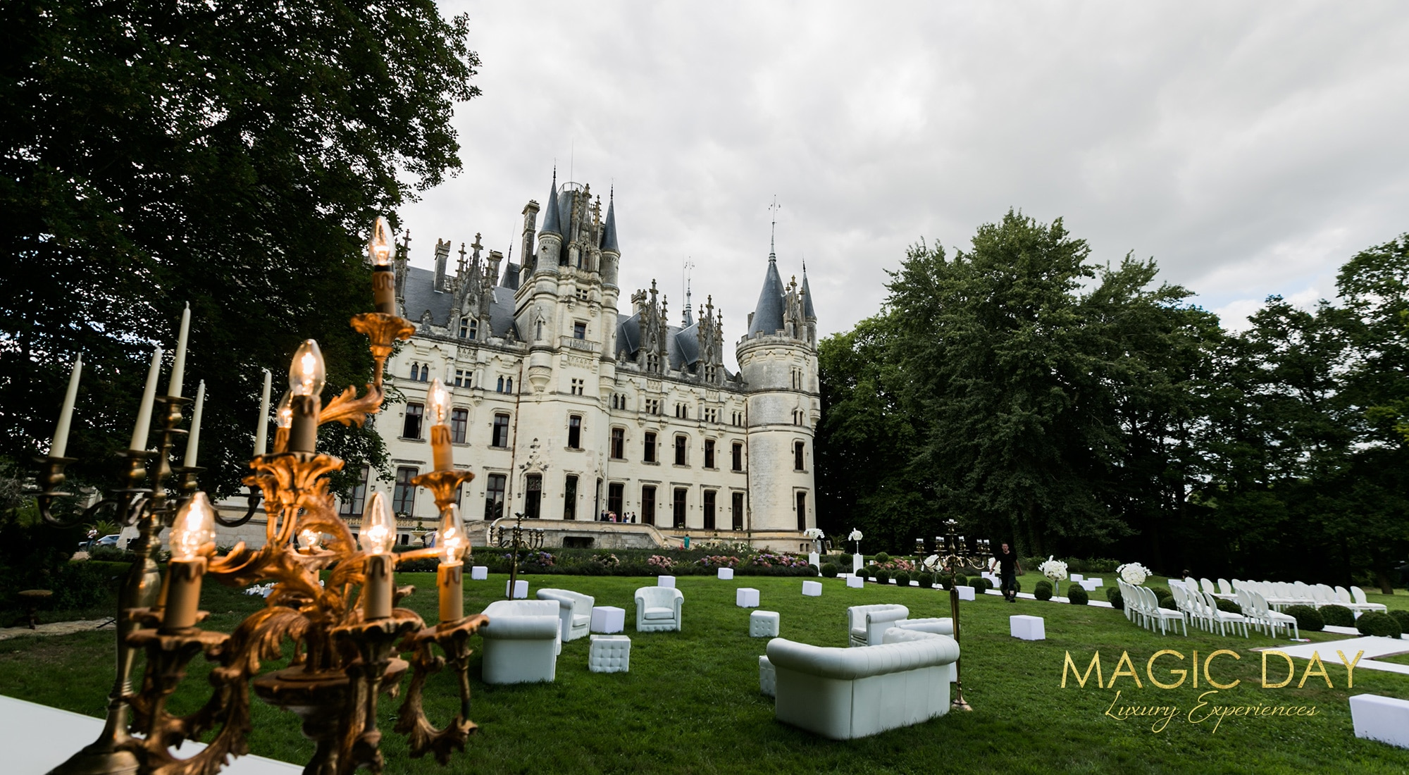 Chateau for weddings in France