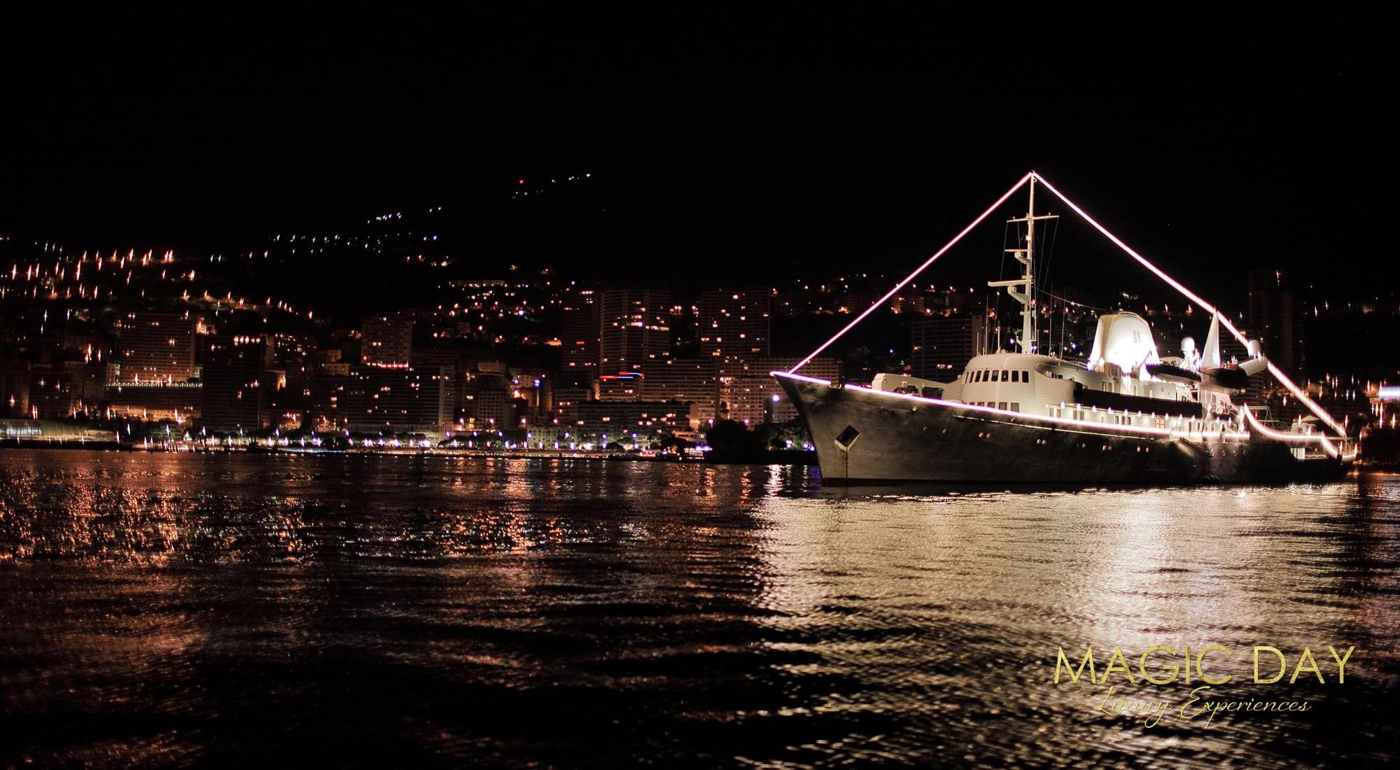 Christina O mega yacht birthday celebration
