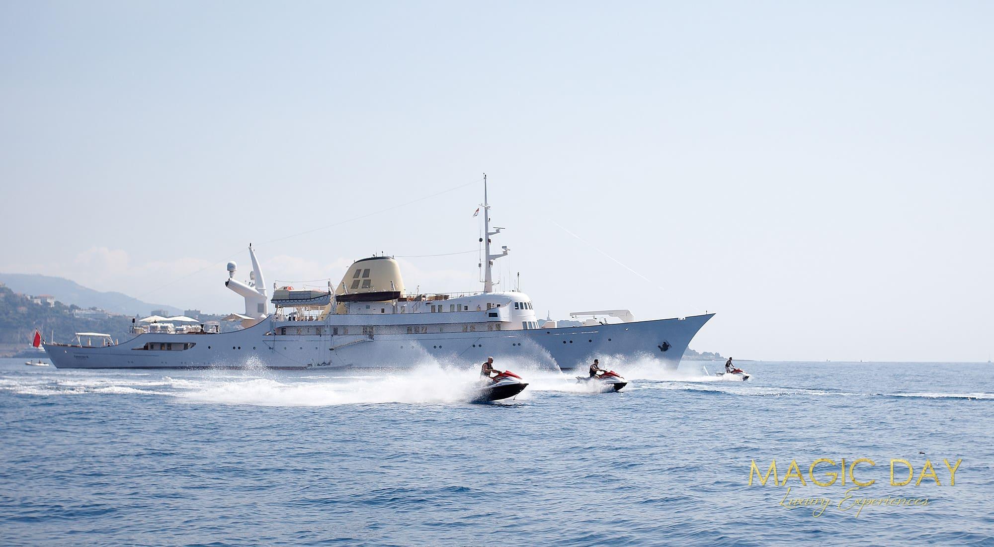 Christina O mega yacht