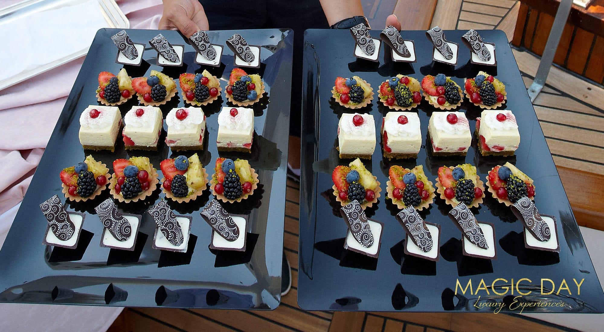 Cote d'Azure yacht birthday