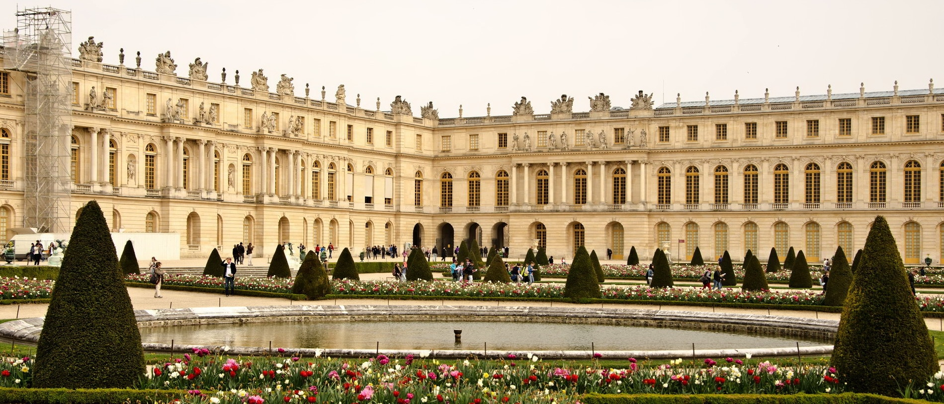 Palace of Versailles wedding venue
