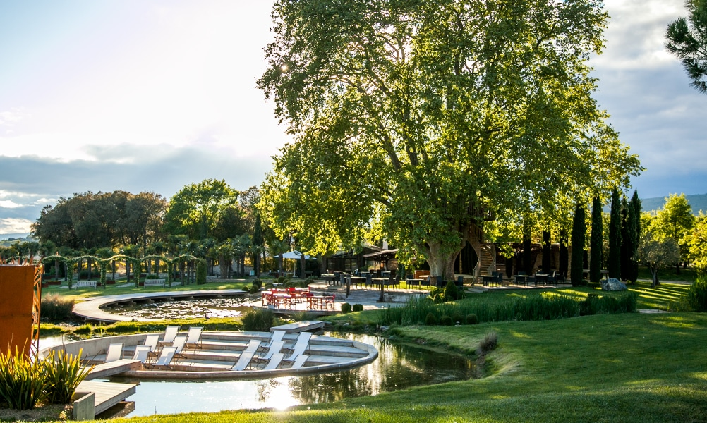 Provence wedding venues domaine des Andeols