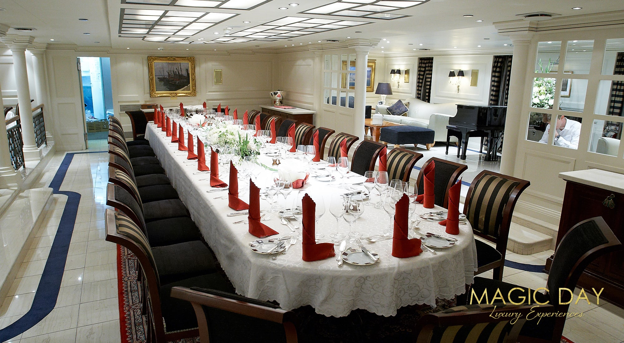 Wedding aboard super yacht Cannes