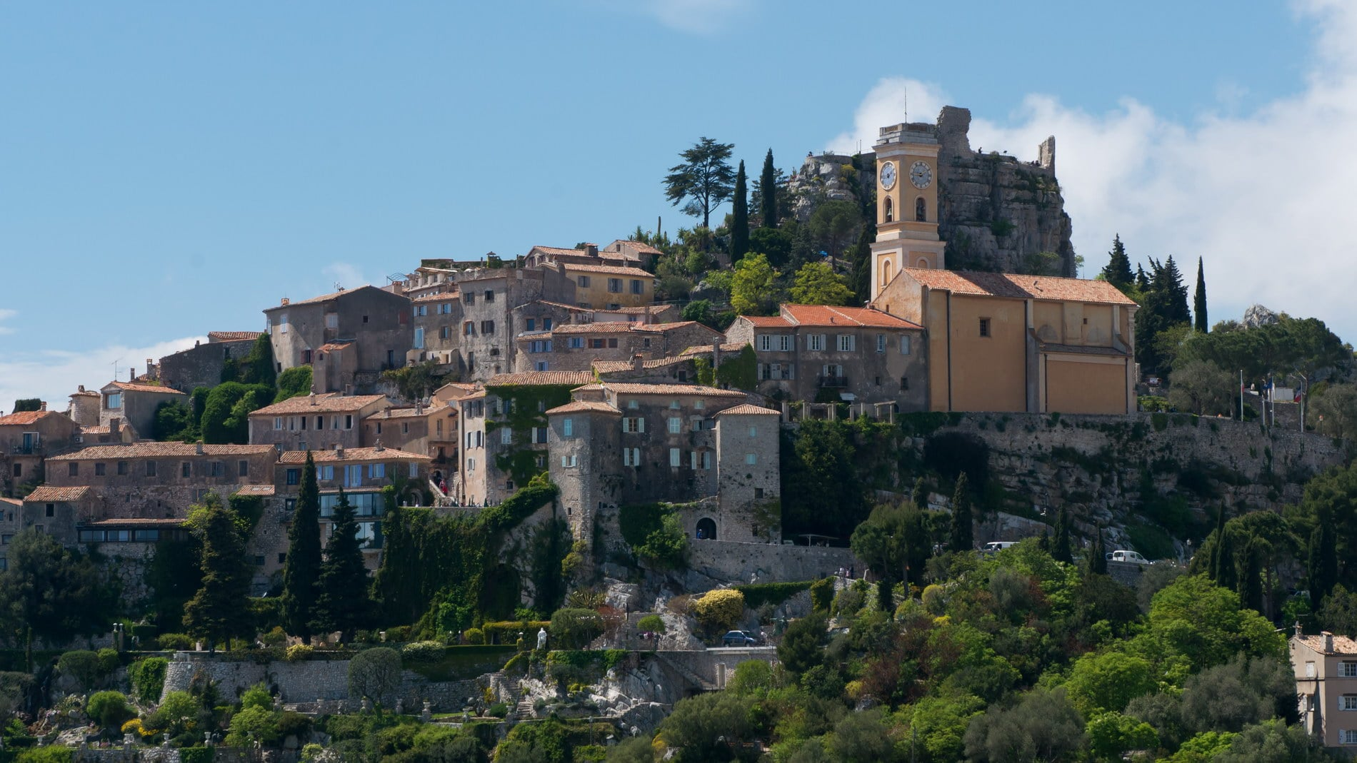 Wedding venues South of France Chateau Chevre d'Or