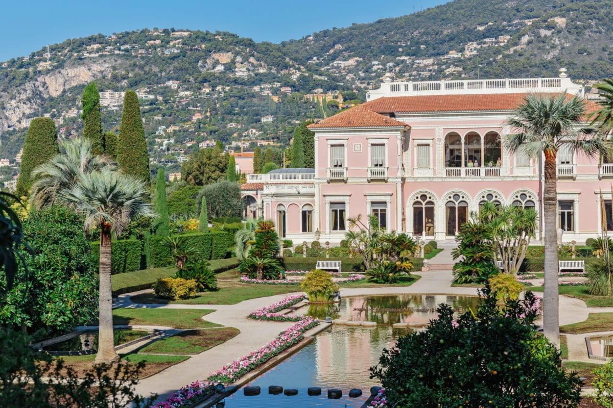 Wedding venues South of France Vill Ephrussi de Rotschild