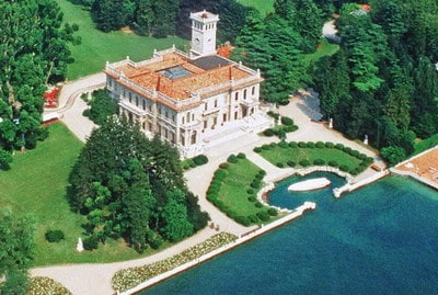 Lake Como wedding venues Villa Erba