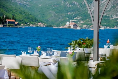 Montenegro wedding venue Lady of the Rock wedding